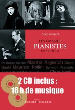 Les grands pianistes du 20 ème siècle Alain Lompech Livre laflutedepan