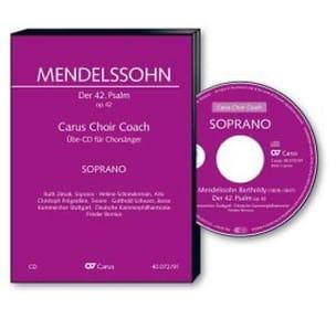Der 42. Psalm. Wie Der Hirsch Schreit - CD soprano CHOEUR laflutedepan