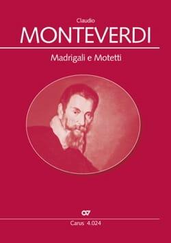 Claudio Monteverdi - Madrigali et Motetti - Partition - di-arezzo.fr