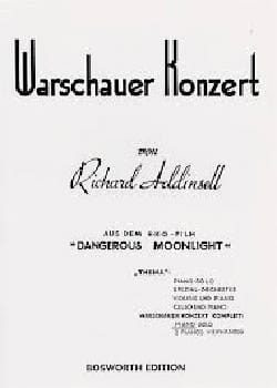 Warsaw Concerto Richard Addinsell Partition Piano - laflutedepan