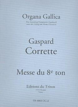 Gaspard Corrette - Messe du 8ème ton - Partition - di-arezzo.fr