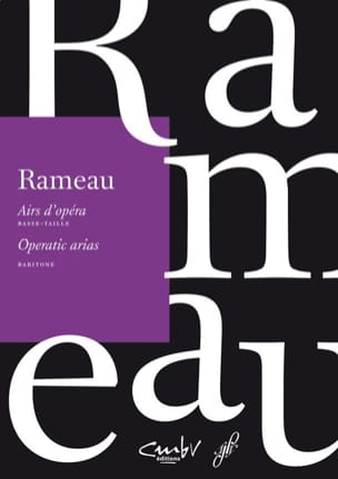 Jean-Philippe Rameau - Airs d'opéra. Basse taille - Partition - di-arezzo.fr