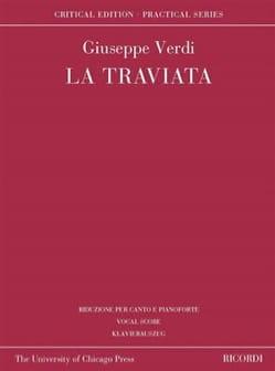 Giuseppe Verdi - La Traviata - Edition critique - Partition - di-arezzo.fr