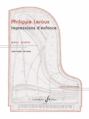 Philippe Leroux - Impressions of childhood - Sheet Music - di-arezzo.co.uk