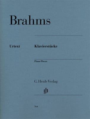 Klavierstücke BRAHMS Partition Piano - laflutedepan