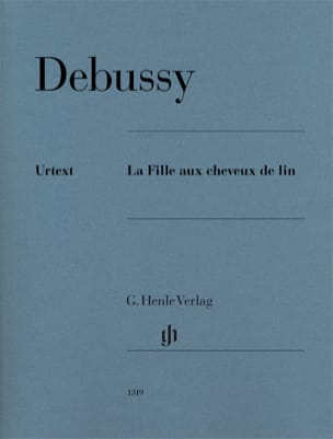 DEBUSSY - The girl with linen hair - Sheet Music - di-arezzo.com