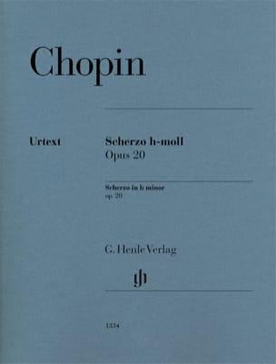 Frédéric Chopin - Scherzo en si mineur op. 20 - Partition - di-arezzo.fr