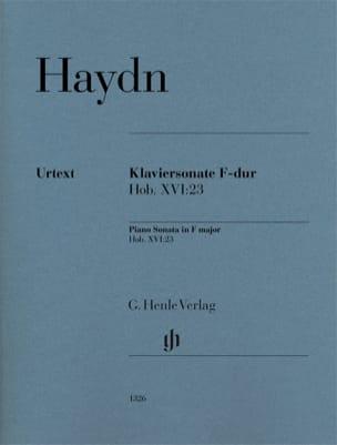 Sonate pour piano en Fa majeur Hob. 16-23 HAYDN Partition laflutedepan