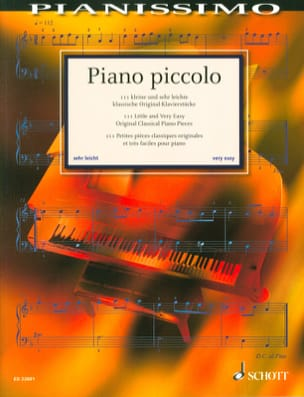 Piano Piccolo - Partition - Piano - laflutedepan.com