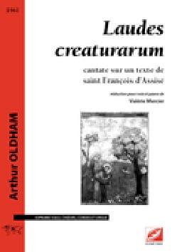 Laudes Creaturarum - Arthur Oldham - Partition - laflutedepan.com