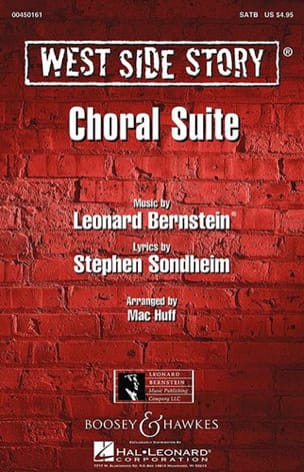 Leonard Bernstein - West Side Story SATB Choral Suite - Sheet Music - di-arezzo.com
