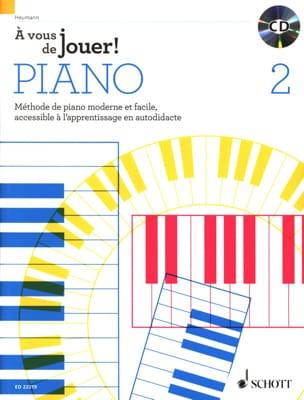 Hans-Günter HEUMANN - Sta a te giocare a PIANO! - Volume 2 - Partitura - di-arezzo.it