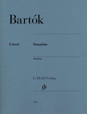 Bela Bartok - Sonatine - Partition - di-arezzo.fr