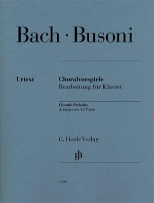 Bach Jean-Sébastien / Busoni Ferruccio - Preludios de corales - Partitura - di-arezzo.es