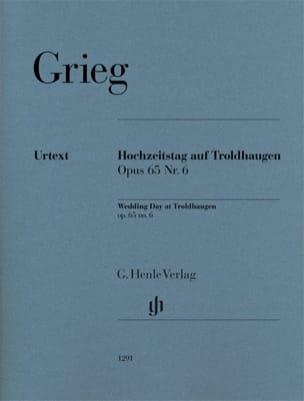 Edward Grieg - Hochzeitstag auf Troldhaugen op. 65-6 - Partition - di-arezzo.fr