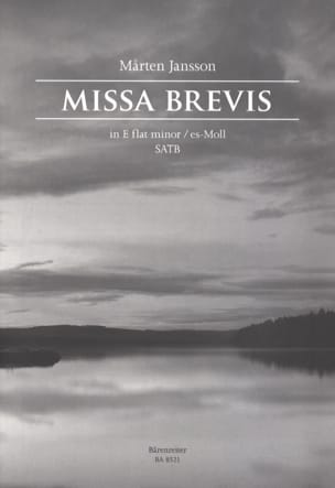 Marten Jansson - Missa Brevis in E flat minor - Sheet Music - di-arezzo.co.uk