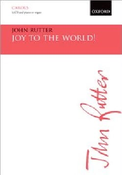 John Rutter - Joy to the world - Partition - di-arezzo.fr