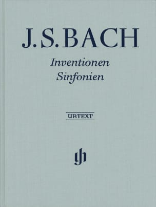 BACH - Inventions et Sinfonies BWV 772-801 - Edition Reliée - Partition - di-arezzo.fr