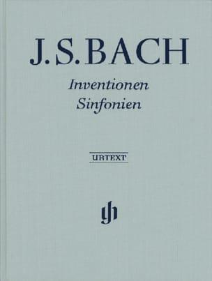 Inventions et Sinfonies BWV 772-801 - Edition Reliée laflutedepan