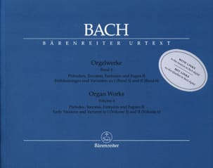 BACH - Orgelwerke. Band 6. Revised Edition - Partition - di-arezzo.co.uk