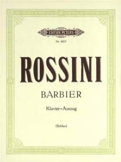 Gioachino Rossini - Il Barbiere di Siviglia - Sheet Music - di-arezzo.com