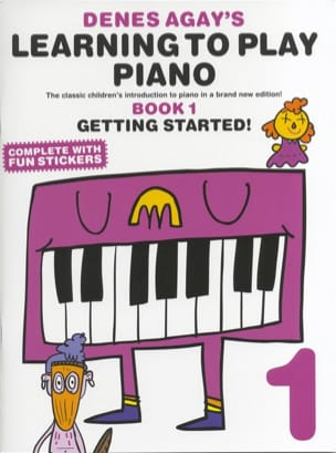 - Learning to play piano Book 1 - Sheet Music - di-arezzo.com