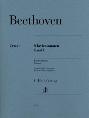 Ludwig van Beethoven - Sonates pour piano Volume 1 - Partition - di-arezzo.fr
