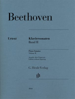 Ludwig van Beethoven - Sonates pour piano Volume 2 - Partition - di-arezzo.fr