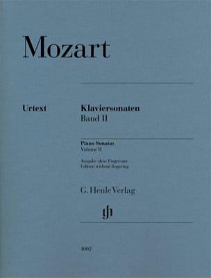 MOZART - Sonates pour piano Volume 2 - Partition - di-arezzo.fr