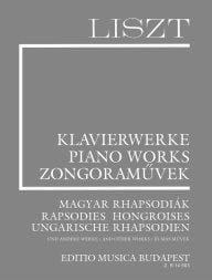 Franz Liszt - Rhapsodies hongroises et autres mélodies. Supplément 8 - Partition - di-arezzo.fr