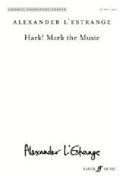 Hark! Hark the music - L'Estrange Alexander - laflutedepan.com