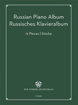- Russian Piano Album - Partition - di-arezzo.fr