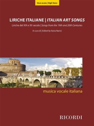 - Liriche Italiane - High Voice - Sheet Music - di-arezzo.co.uk
