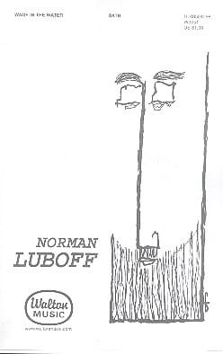 Norman Luboff - Wade in the Water - Partition - di-arezzo.fr