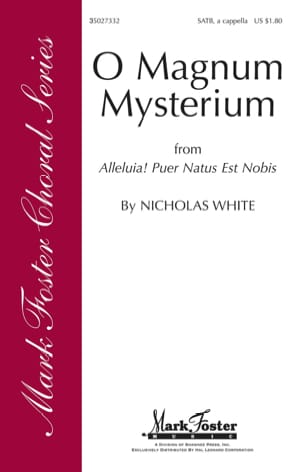 Nicholas White - O Magnum Mysterium - Sheet Music - di-arezzo.com