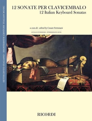 - 12 Sonatas for Harpsichord - Sheet Music - di-arezzo.com