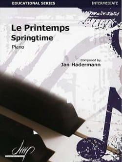 Jan HADERMANN - Le Printemps - Partition - di-arezzo.fr