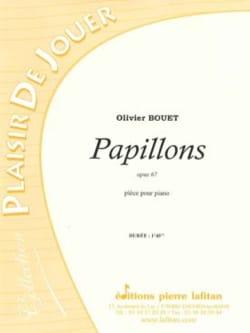 Papillons - Opus 67 Olivier BOUET Partition Piano - laflutedepan