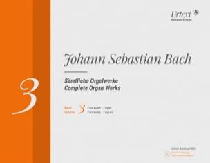 BACH - 完全オルガン作品 - Breitkopf Urtext、Volume 3-Rom - 楽譜 - di-arezzo.jp