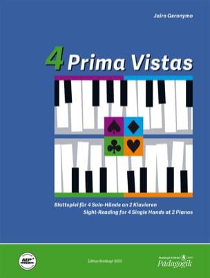 4 Prima Vistas - Jairo Geronymo - Partition - Piano - laflutedepan.com