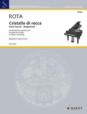 Nino Rota - Cristal de roche - Partition - di-arezzo.fr