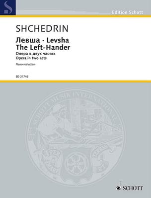 Rodion Chedrin - Levsha The Left-Hander - Sheet Music - di-arezzo.com