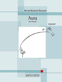 Aura - Bernd Richard Deutsch - Partition - Piano - laflutedepan.com