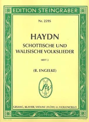 HAYDN - Schottisch und Walisische Volkslieder - Partition - di-arezzo.fr