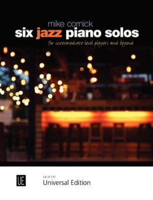 Mike Cornick - Six Jazz Piano Solos for piano - Partition - di-arezzo.fr