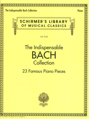 BACH - The Indispensable Bach Collection - Partition - di-arezzo.fr