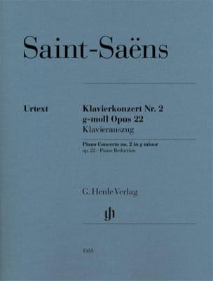 Camille Saint-Saëns - Concerto pour piano n° 2 en sol mineur opus 22 - Partition - di-arezzo.fr
