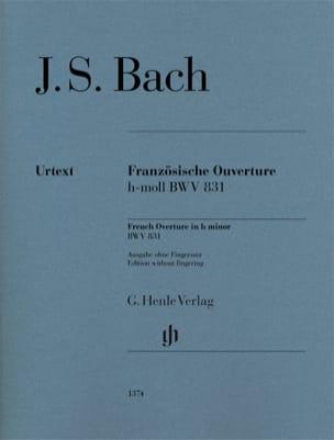 BACH - French opening in B minor BWV 831 - Sheet Music - di-arezzo.co.uk