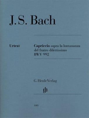 Jean-Sébastien Bach - Capriccio sopra la lontananza del suo fratello dilettissimo BWV 992 - Partition - di-arezzo.fr