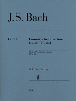 BACH - French opening in B minor BWV 831 - Sheet Music - di-arezzo.com